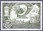 Stamps Spain -  Edifil 2480 Día del sello 1978 5 NUEVO