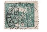 Stamps Czechoslovakia -  Palacio Verde