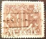 Sellos de Europa - España -  Escudo de Valencia