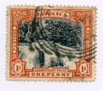 Stamps Jamaica -  Lladoveri Falls (Raro)
