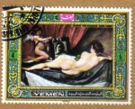 Sellos de Asia - Yemen -  Pintura Tematica