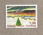 Sellos de Europa - Groenlandia -  Navidad 2008