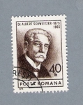 Sellos del Mundo : Europa : Rumania : Dr. Albert Schweitzer 1875-1965