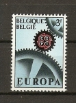 Sellos de Europa - Bélgica -  Tema Europa