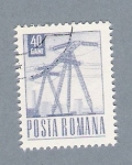 Stamps : Europe : Romania :  Electricidad