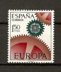 Stamps Spain -  Tema Europa