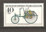 Sellos de Europa - Alemania -  Vehiculos historicos del museo de Munich.