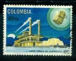 Sellos de America - Colombia -  Barco de vapor correo