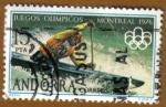 Stamps Europe - Andorra -  REMO - Juegos Olimpicos MONTREAL