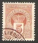 Stamps Europe - Montenegro -  tasa
