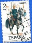 Sellos de Europa - España -  ESPANA 1977 (E2424) Uniformes militares 2p 5 INT