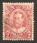 Stamps America - New Foundland -  george V
