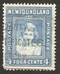 Stamps : America : New_Foundland :  princesa elizabeth