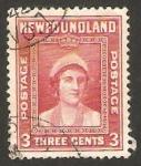 Stamps : America : New_Foundland :  reina elizabeth