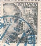 Stamps Spain -  General Franco. España