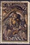 Sellos de Europa - España -  Nacimineto (Catedral de Gerona)