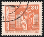 Stamps : Europe : Germany :  Edificios y monumentos