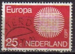 Sellos de Europa - Holanda -  Holanda 1970 Scott 483 Sello Europa CEPT usado Netherland