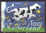 Stamps Netherlands -  Holanda 1995 Scott 873 Sello Vaca Productos Holandeses usado Netherland