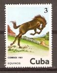Stamps Cuba -  CABALLOS  (EQUINOS)
