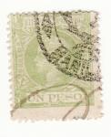 Sellos de Asia - Filipinas -  Alfonso XIII 1898-99
