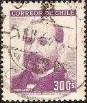 Sellos del Mundo : America : Chile : Jorge Montt