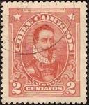 Stamps Chile -  Valdivia