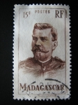 Stamps Africa - Madagascar -  Marshal Joseph J.C. Joffre