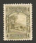 Sellos del Mundo : America : Isla_de_Terranova : caza de reano o caribu