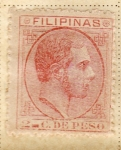 Sellos del Mundo : Asia : Filipinas : Alfonso XII 1898-99