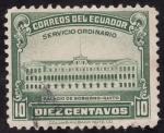 Stamps : America : Ecuador :  palacio de gobierno de Quito