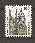 Stamps Germany -  Curiosidades Arquitectonicas.