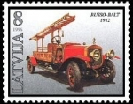 Stamps Europe - Latvia -  bomberos