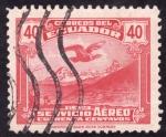 Stamps : America : Ecuador :  EL ALTAR- Cóndor sobrevolando el altar