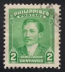 Sellos de Asia - Filipinas -  José RIZAL.