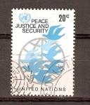 Stamps ONU -  AVES  Y  GLOBO