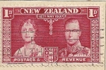 Stamps Oceania - New Zealand -  Pareja real