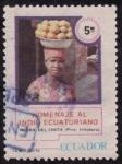 Stamps : America : Ecuador :  INDIO ECUATORIANO