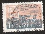 Stamps Argentina -  CENTENARIO DEL SELLO DE LA CONFEDERACION ARGENTINA