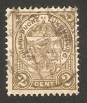 Sellos de Europa - Luxemburgo -  escudo de armas