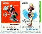 Stamps America - Mexico -  la caricatura en mexico