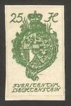 Stamps Liechtenstein -  escudo de armas