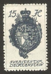 Stamps of the world : Liechtenstein :  27 - Escudo de armas