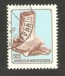 Stamps : Asia : Mongolia :  conferencia arqueológica internacional en oulan bator