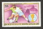 Sellos del Mundo : Asia : Mongolia : mundial de futbol argentina 1978, brasil