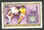 Sellos del Mundo : Asia : Mongolia : mundial de futbol argentina 1978, inglaterra