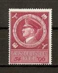 Stamps Germany -  III Reich / 55 aniversario de Hitler