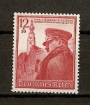 Stamps Europe - Germany -  III Reich / 50 Aniversario de Hitler