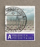 Stamps Switzerland -  Campo girasoles