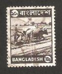 Stamps : Asia : Bangladesh :  trabajando en el campo